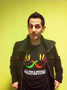 Maglietta Pace per il Messico